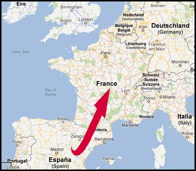 Envoyer des jambon « pata negra », Serrano et Bellota à la France et Belguique